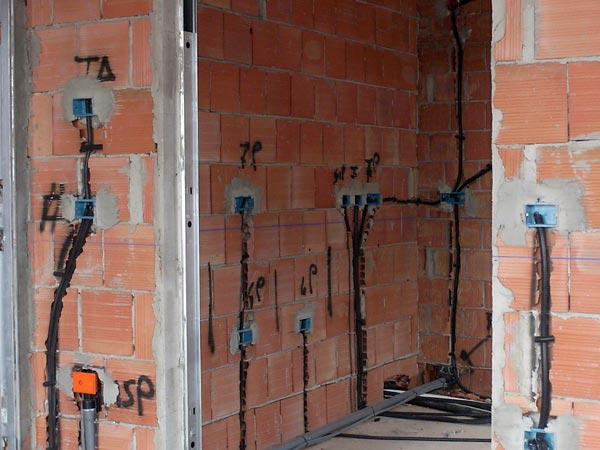 Impianto elettrico casa carpi guastalla progettazione illuminazione luci appartamento cucina - Impianto elettrico casa prezzi ...